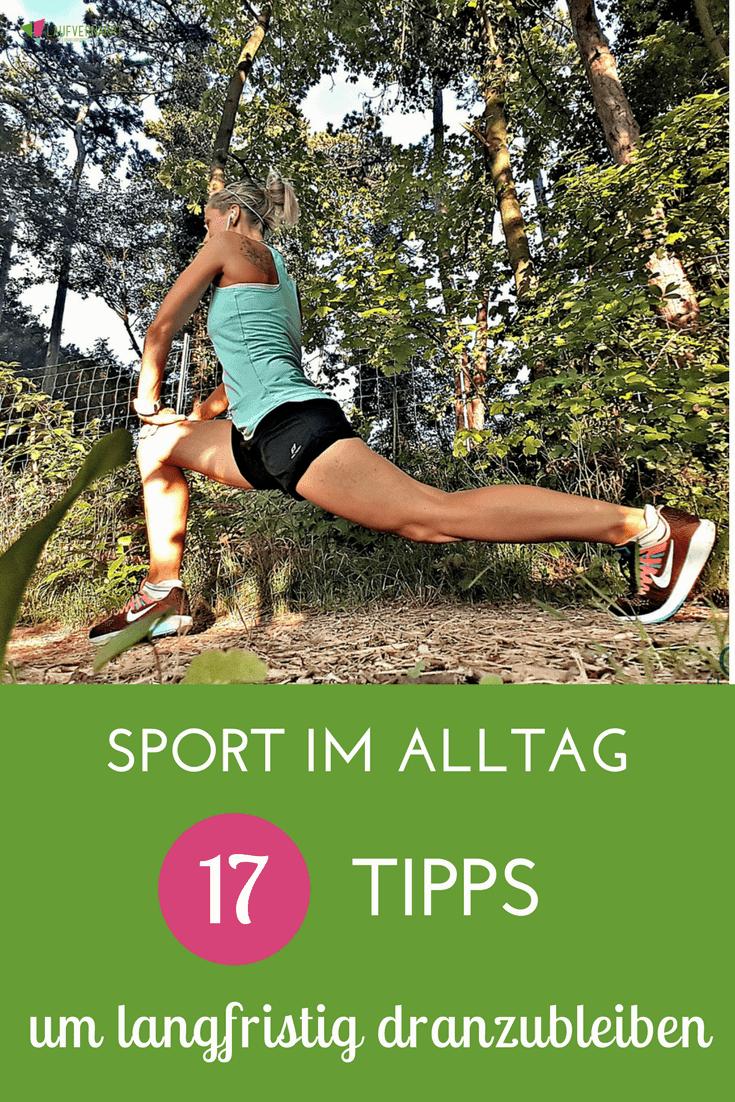 Möchtest du Sport langfristig und dauerhaft in deinen Alltag integrieren? Dann wird es Zeit für diesen Artikel, in dem du 17 großartige Tipps von Meli von Fitme-licious bekommst, wie du dauerhaft dranbleibst.