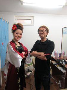 松山祭り モヒカンアップ