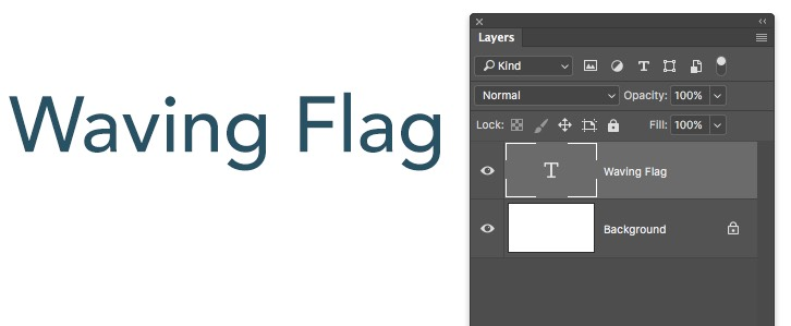 Photoshop Text Layer