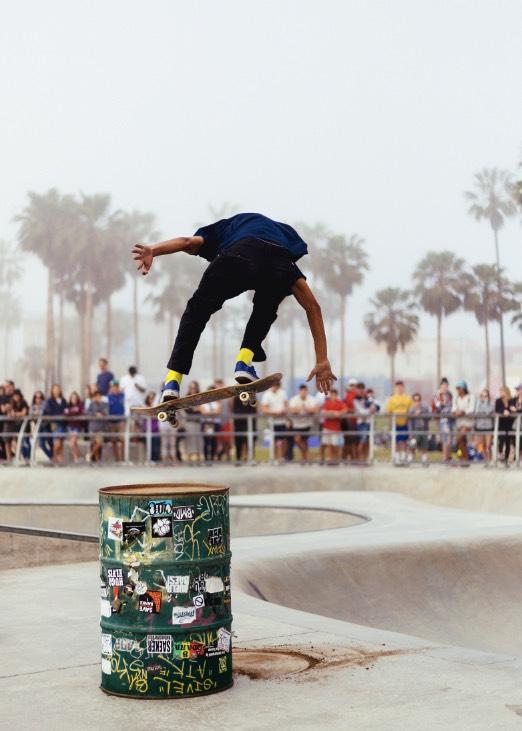 01 - Skateboarder Image