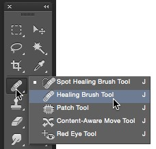 Healing and Patch Tools Photoshop