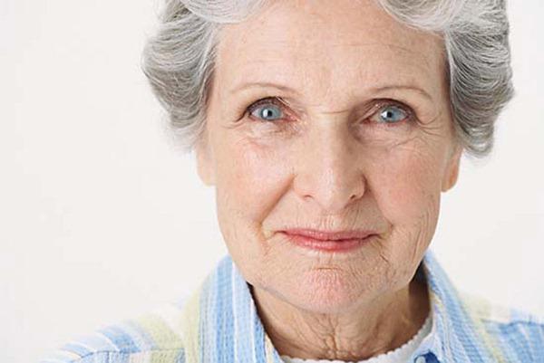 600-846386 © Masterfile Model Release Portrait of Senior Woman Smiling