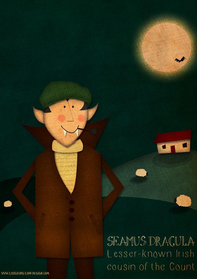 Seamus Dracula Illustration by Jennifer Farley