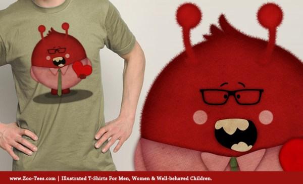 Love Monster T-Shirt Zoo Tees