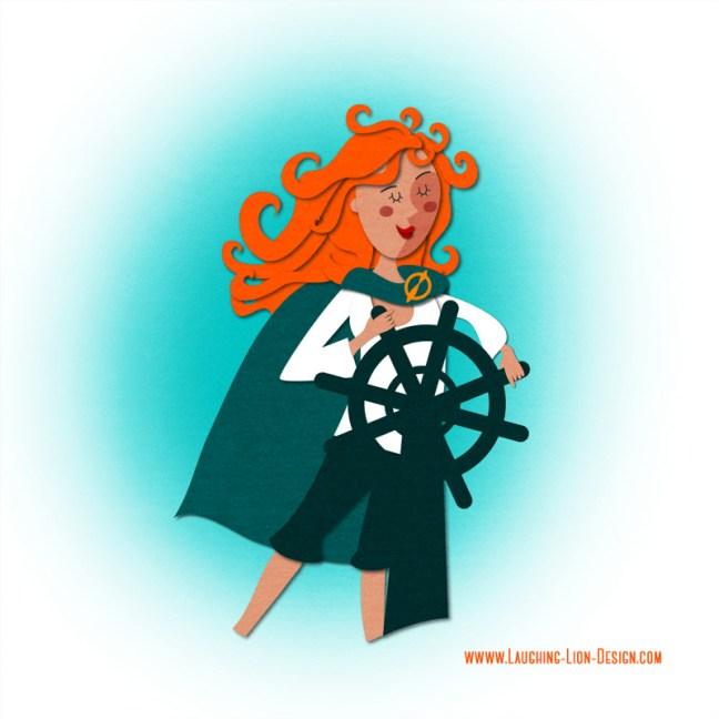 Grace O'Malley illustrated by Jennifer Farley