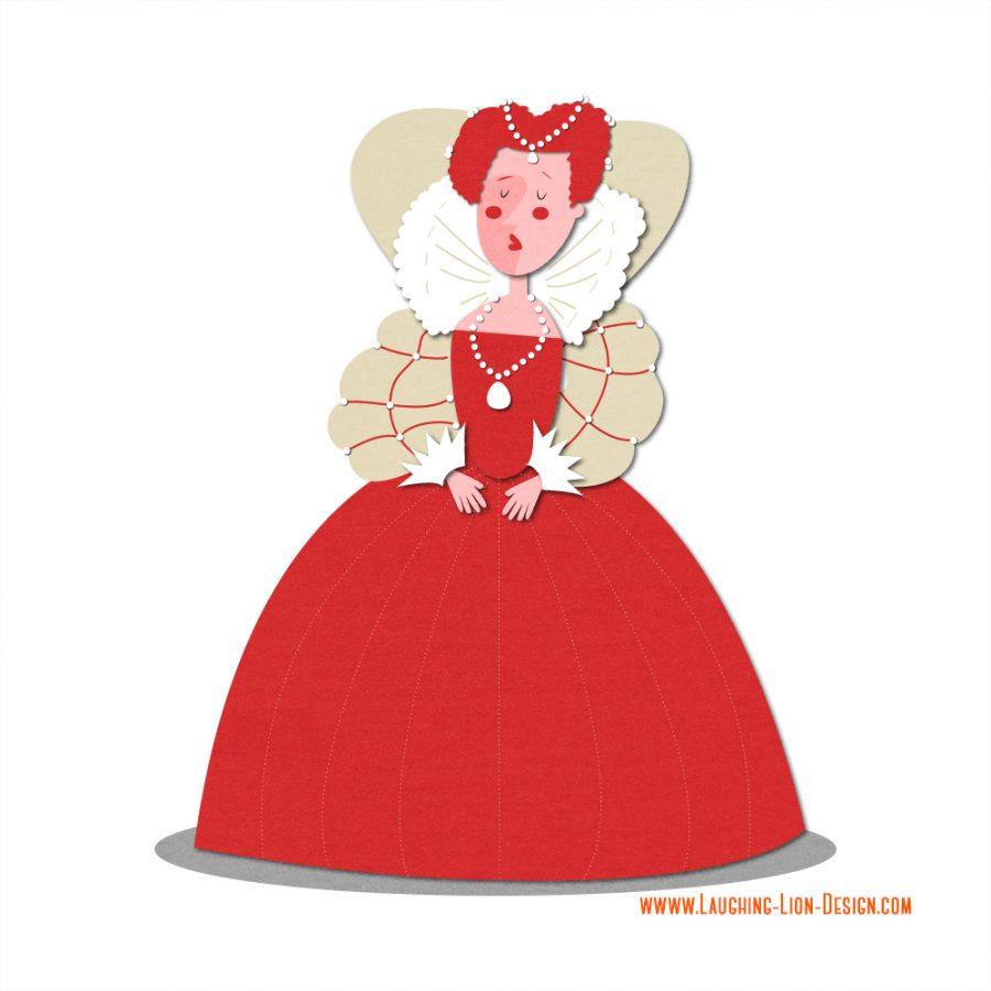 Queen Elizabeth illustrated by Jennifer Farley