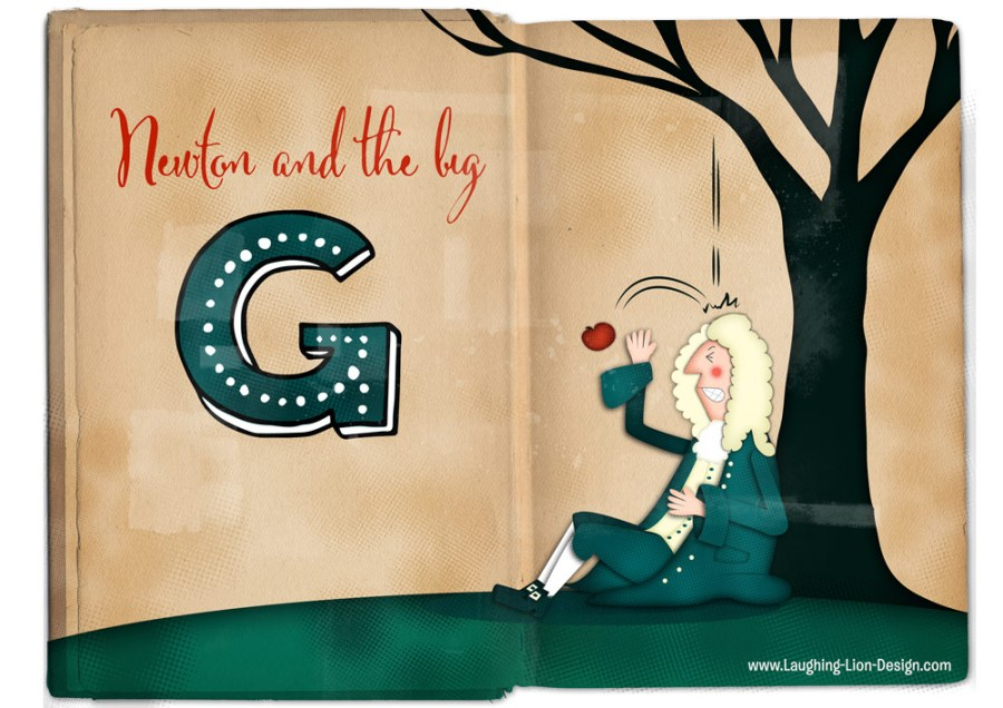 Isaac Newton illustrated by jennifer farley