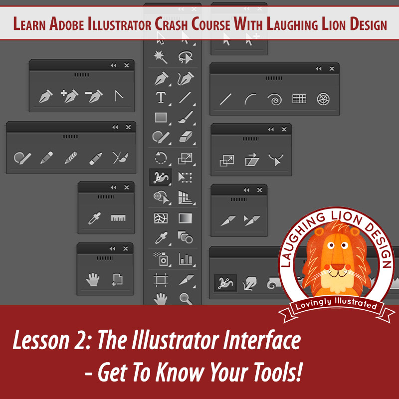 Learn Adobe Illustrator Day 2 – The Interface – Know Your Tools!