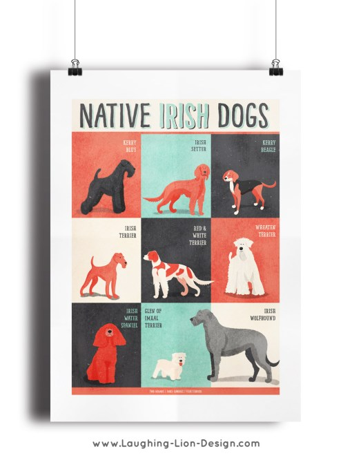 Dogs-Of-Ireland-Print-Jennifer-Farley-Clip-Frame