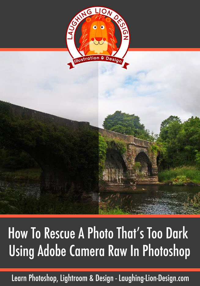 How To Easily Rescue A Photo That's Too Dark Using Adobe Camera Raw In Photoshop