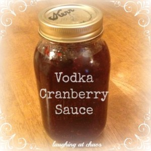 vodka cranberry sauce