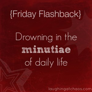 {FF} drowning in the minutiae