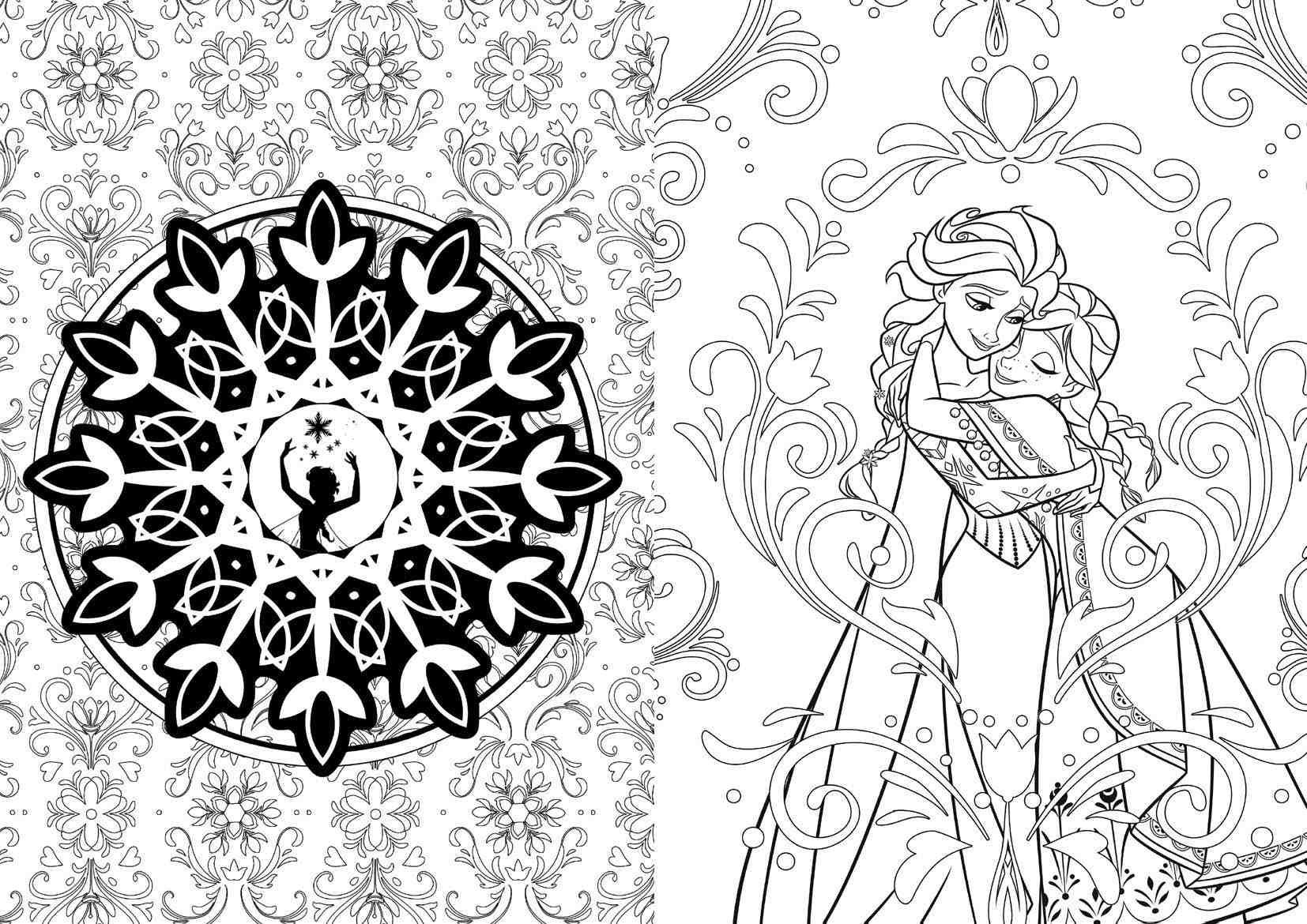 Disney Offers Coloring Books For Adults