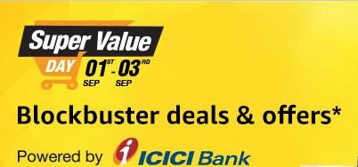 Amazon India Super Value Day- September 2017
