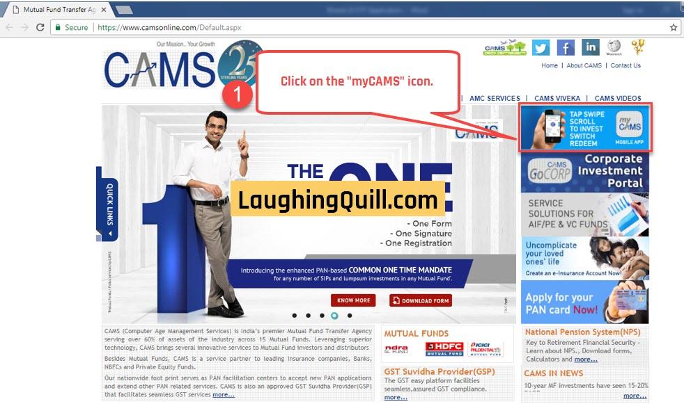 Apply for Bharat 22 ETF through CAMS Online