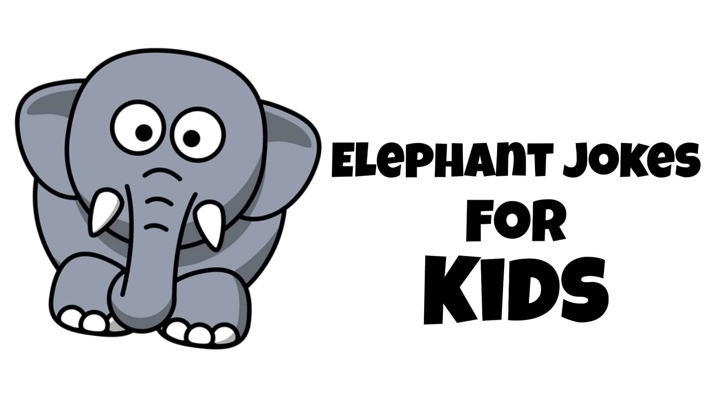 kids love to tell jokes, so today we bring you the best Elephant jokes for kids.
