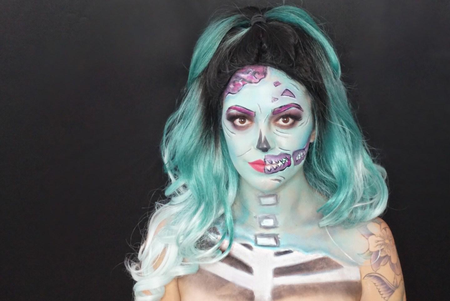 Pop Art Skeleton