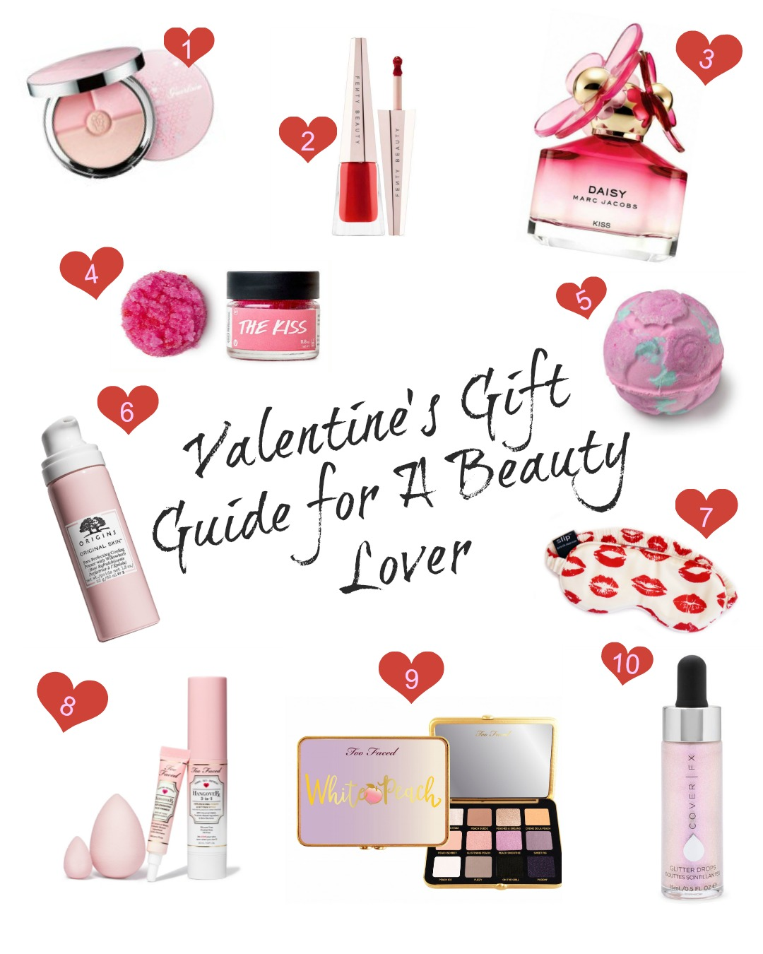 Valentine's Day Gift Guide for A Beauty Lover