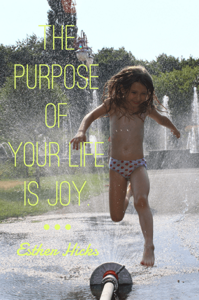 The Purpose of your life is joy - managing overexcitabilities - Laugh Love Learn