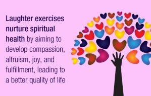 Laughter Wellness benefits spiritual health