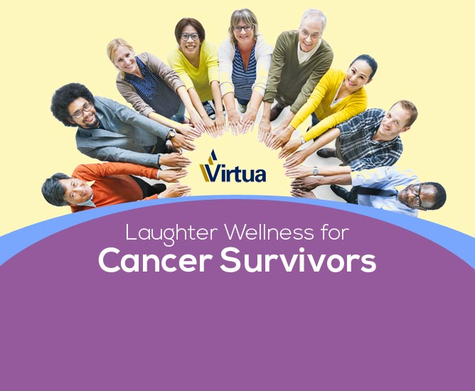 Virtua Cancer Survivors Laughter Wellness Event