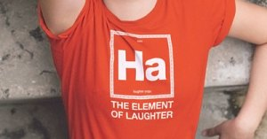 Ha The Element of Laughter from LaughterYogaApparel.com