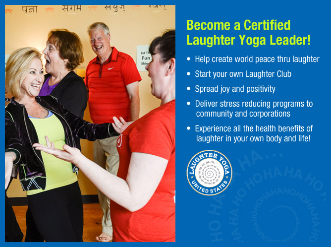 Laughter Yoga Leader Training NJ