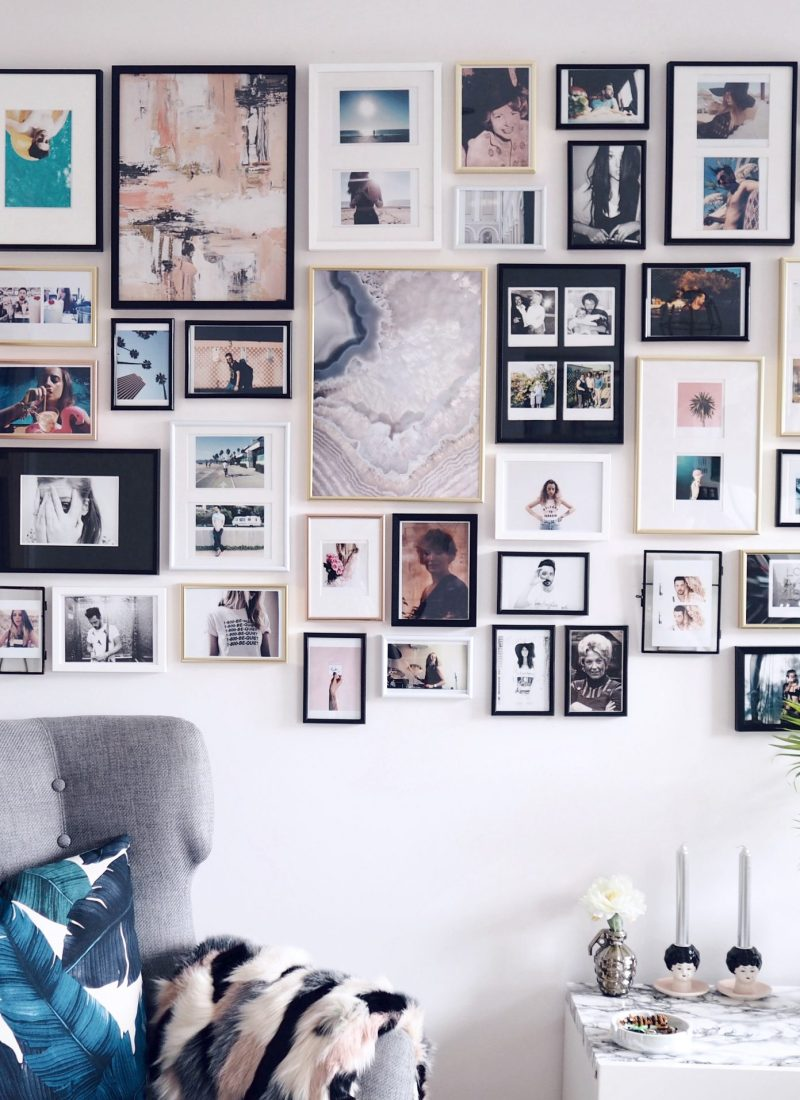 Scandinavian posters & picture wall fabulousness with Desenio (+ DISCOUNT CODE!)