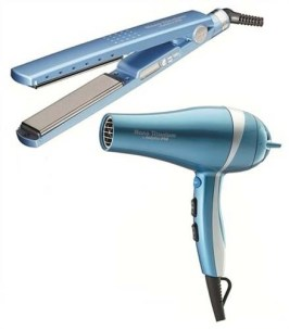 hair iron and dryer