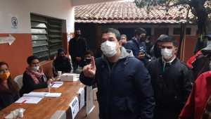 Vicepresidente Hugo Velázquez pide que afiliados acudan a votar - La Unión