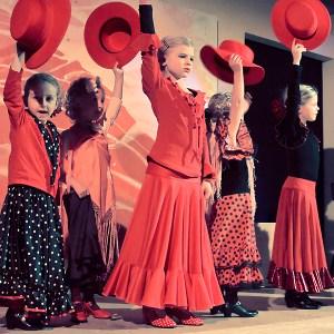 Flamenco Auftritt Kinder