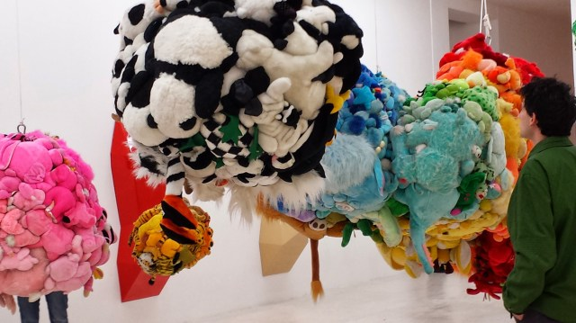Mike Kelley. Deodorized Central Mass with Satellites. 1991/1999.