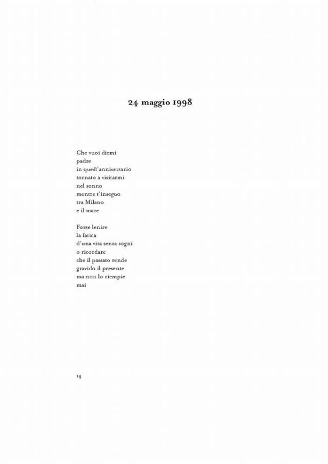 Poesia 24 maggio 1998
