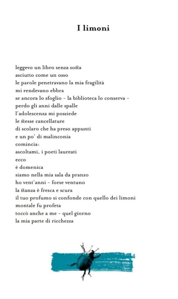 Poesia I limoni