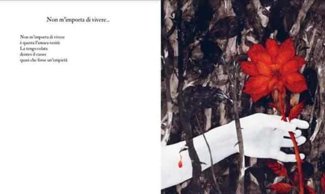Poesia e illustrazione Non m'importa di vivere