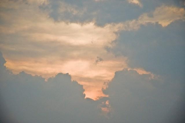 Immagine del cielo nuvoloso