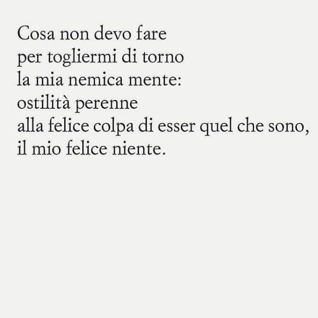 Cosa devo fare, poesia di Patrizia Cavalli