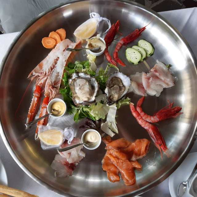 Quando vai in montagna ma ti trovi al mare.......#excellentfood #latrisa #ristorantelatrisa #labontàsalveràilmondo