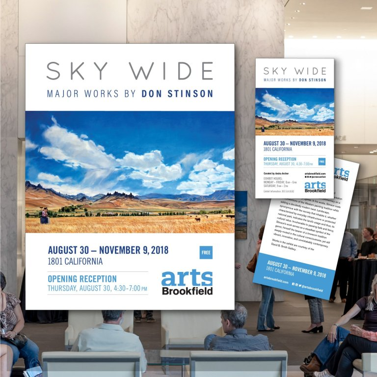 Sky Wide | Major Works by Don Stinson | Exhibition at Republic Plaza | Arts Brookfield | Brookfield Properties