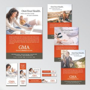 "Glenwood Medical Associates ""Own Your Health"" Advertising Campaign"