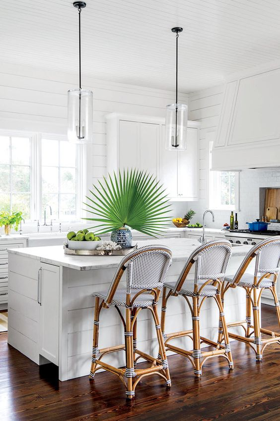 Kiawah Island project, Elizabeth Newman decorator, kitchen cover try