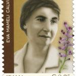 Eva Mameli botanca francobollo italiane eccellenti