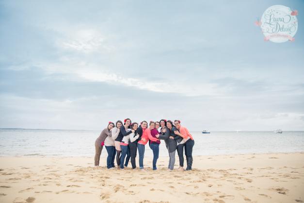 Séance photo EVJF à la plage