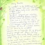 Laura's brieven: Mariska en Jana
