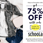 Schoola Flash Sale Sparkle and Shine December Discount Code