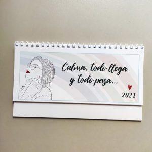 Calendario de mesa 2021 - Laura Fergué