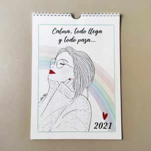 Calendario de pared 2021 - Laura Fergué