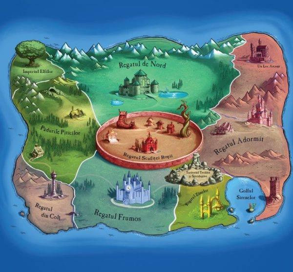 Harta Tărâmului Poveştilor