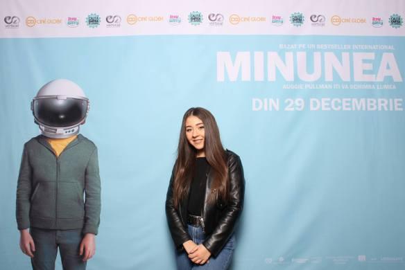 Nicole Cherry la avanpremiera filmului Minunea