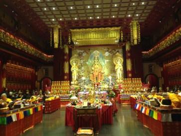 Templo budista en Chinatown